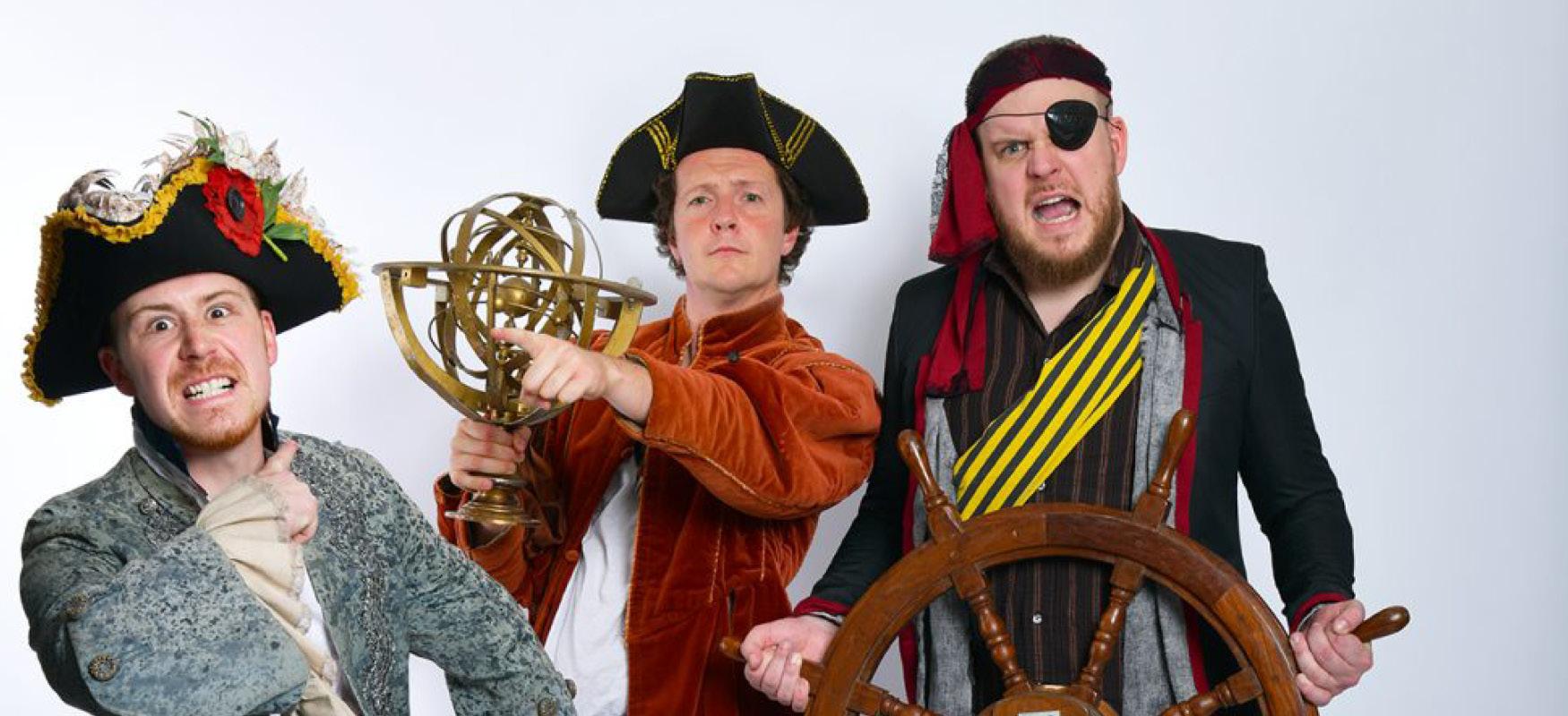 moise next door at sea, farnham maltings, family theatre, comedy, music