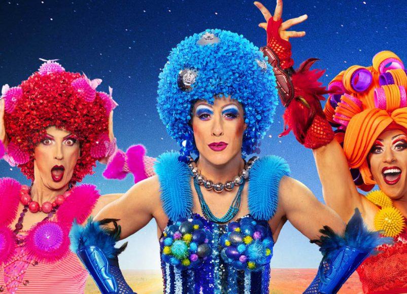priscilla queen of the desert, new victoria theatre, woking, theatre, musical, drama, entertainment, gigs, drag, comedy